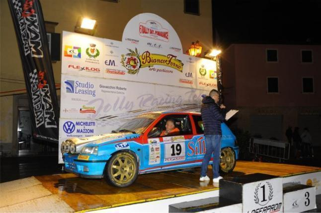 Marco Gianesini e Fabio Menchini al Rally Day di Pomarance (16-17/11/2019)
